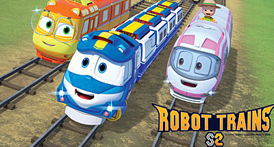 Nueva temporada de Robot Trains