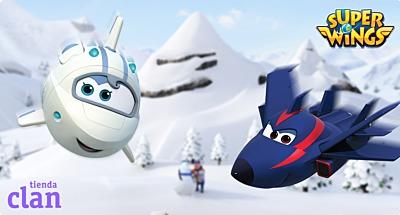Especial Navidad Super Wings en Tienda Clan